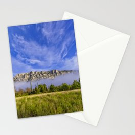 Sainte Victoire du matin Stationery Cards