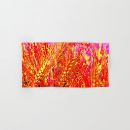 Wheat Pattern #Society 6 # buy art  #decor Hand & Bath Towel