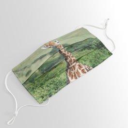 Giraffe Standing tall Face Mask