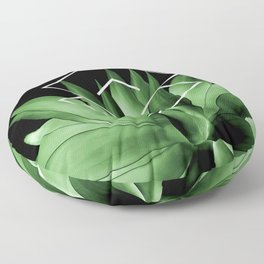 Agave geometrics III Floor Pillow