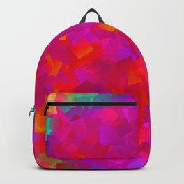 Little rainbow, big pink .. Backpack