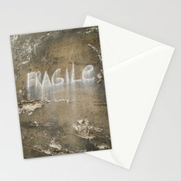Fragile city Stationery Cards