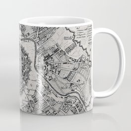 Vintage Map of Vienna Austria (1780) Coffee Mug