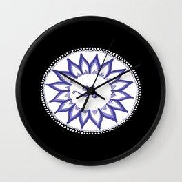 Ohm Flower Wall Clock