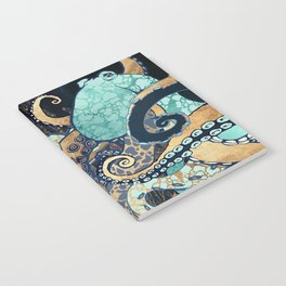 Metallic Octopus II Notebook