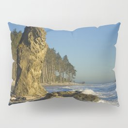 Sea Stack on Ruby Beach in Washington State Pillow Sham