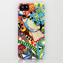 Birds party iPhone Case