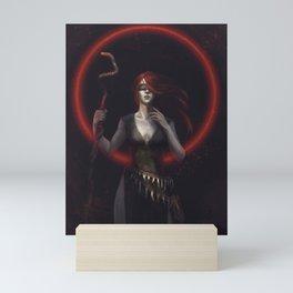 The Seeress Mini Art Print
