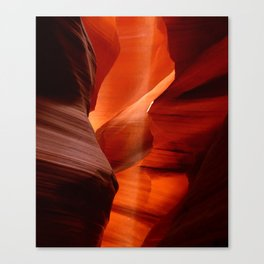 Marvelous Antelope Canyon Colors Canvas Print
