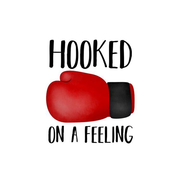 Hooked On A Feeling | Boxing Glove Duvet Cover