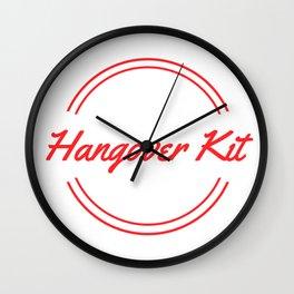 Hangover Kit Wall Clock