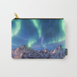 Aurora Borealis with Snow Carry-All Pouch