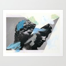 Untitled (Painted Composition 1) Art Print