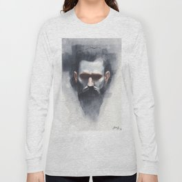 Reproduction of Casey Baugh Artwork Long Sleeve T-shirt