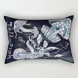 A Smack of Jellyfish Rectangular Pillow