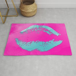 dp048-3 Watercolor kiss Rug