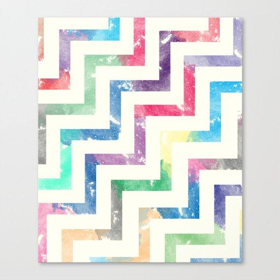 Colorful Geometric VI Canvas Print