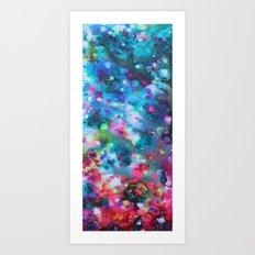 Underwater Floral  Art Print