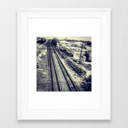 railroad Framed Art Print