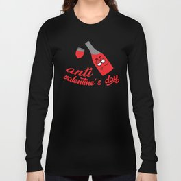 Anti valentine's day Long Sleeve T-shirt