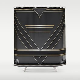 Art deco design IV Shower Curtain