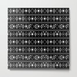 Black and white Art Deco. 23 Metal Print