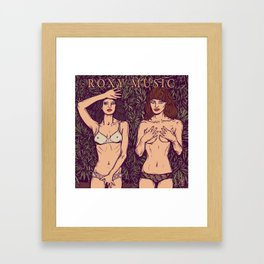 ROXY MUSIC - Country Life Framed Art Print