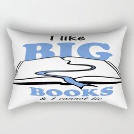 I like Big Books Rectangular Pillow