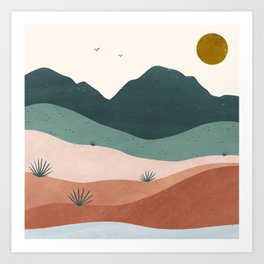 terra serena Art Print