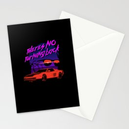 There's no turning back Stationery Cards
