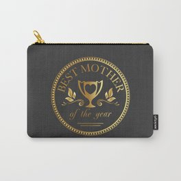 Mother's day golden trophy Carry-All Pouch