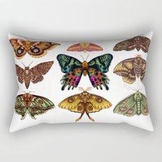 Moth Wings III Rectangular Pillow