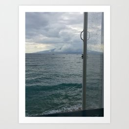 #MISTYMAUI Art Print