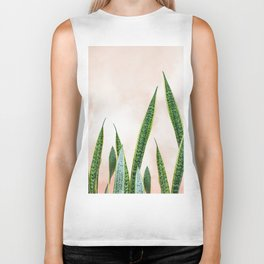 Dreaming candy cotton with green Biker Tank