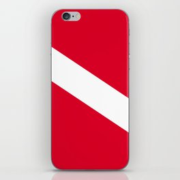 Diver Flag iPhone Skin