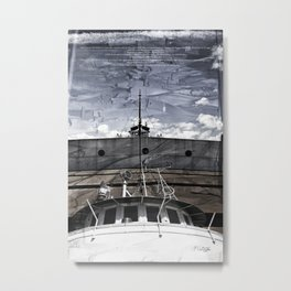 S.S. Valley Camp Metal Print