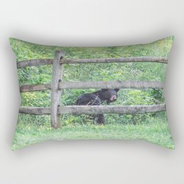 I See a Bear! Rectangular Pillow