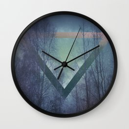 Pagan mornings Wall Clock