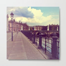 Berlin and the island Metal Print