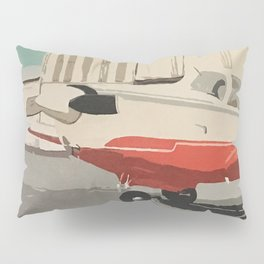 The Mooney-Red Airplane Pillow Sham