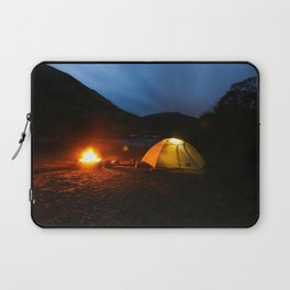 Camping Under a Midnight Sun Laptop Sleeve