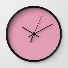bubblegum pink (matches VOILA design) Wall Clock