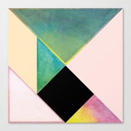 Tangram Square Two Canvas Print