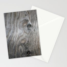 Real Aged Silver Wood Stationery Cards