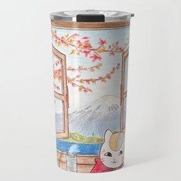 Nyanko-sensei (Natsume Yuujinchou) Travel Mug