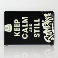 Keep Bombing iPad Case