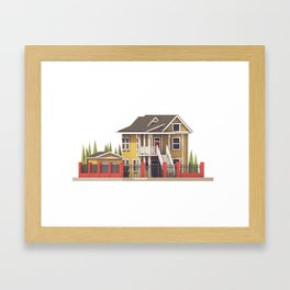 House Framed Art Print