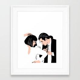 Strange Love: Pulp Fiction Framed Art Print