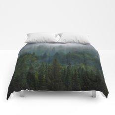 I dream in evergreen Comforters