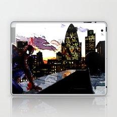 Spiderman in London Close up Laptop & iPad Skin